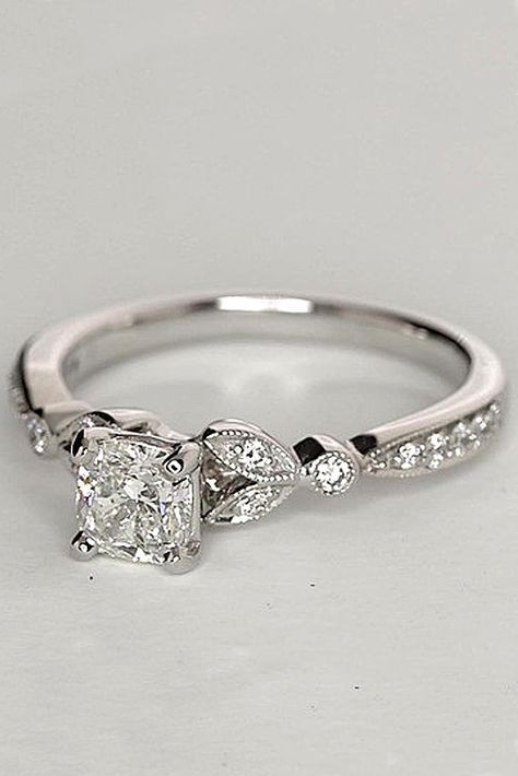 18 Budget-Friendly Engagement Rings Under $1,000 ❤ See more: http://www.weddingforward.com/cheap-engagement-rings/ #wedding #engagement #rings