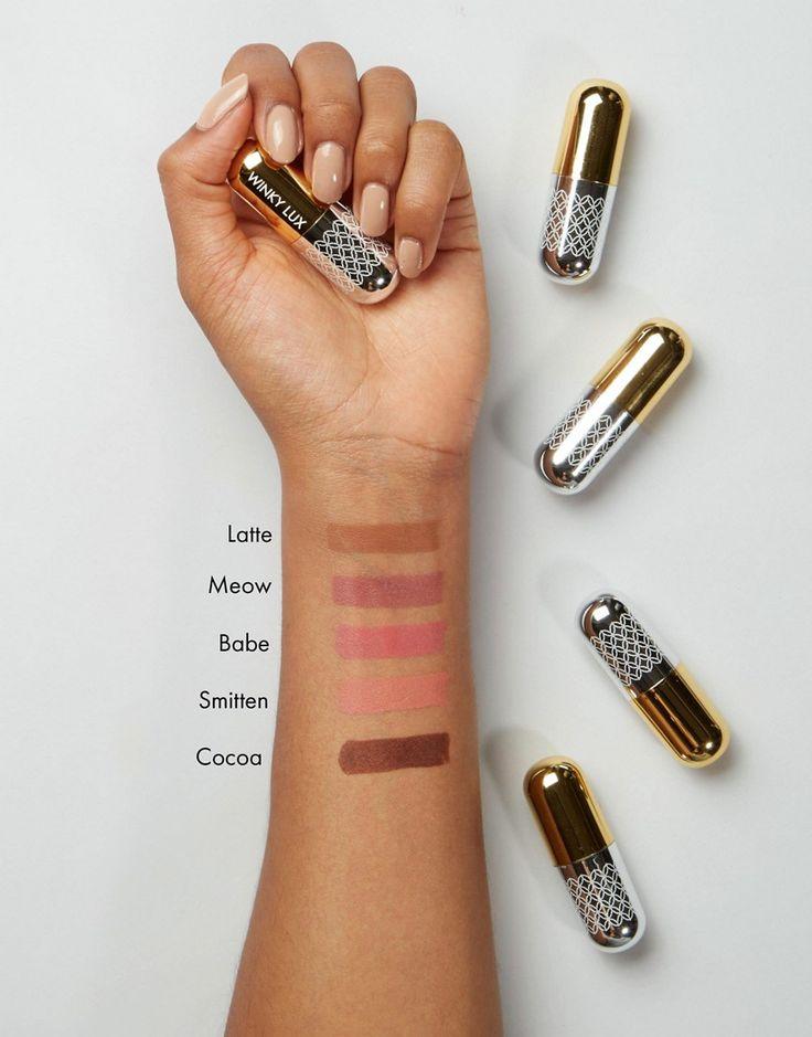 Winky Lux Matte Lip Velour Lipstick - Nudes