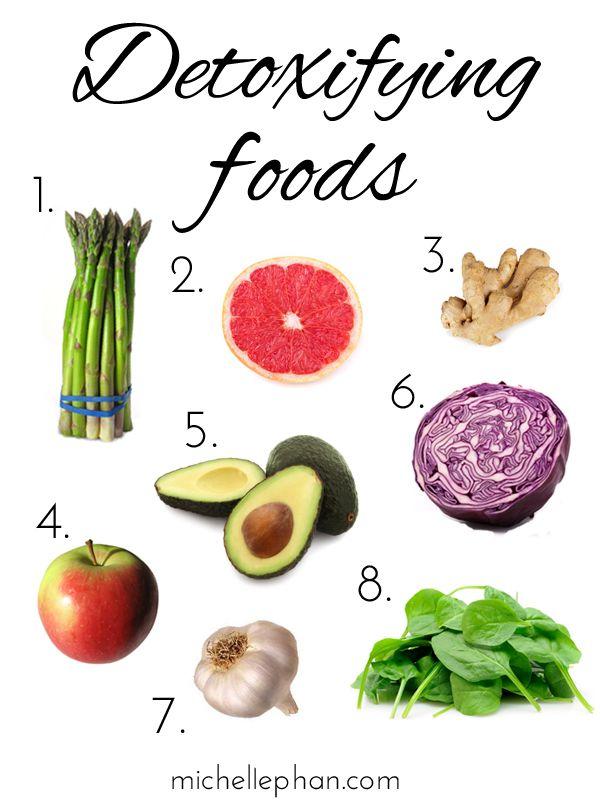 8 Detoxifying Foods #detox #health