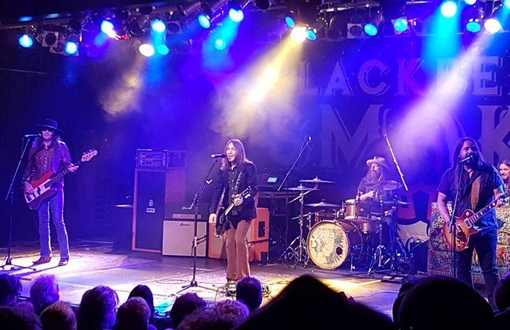 Blackberry Smoke. Im März 2017 live in München - Backstage Werk. Eine Spur Country, dazu eine große Portion Sothernrock mit einem Dipp in den Westcoastsound
