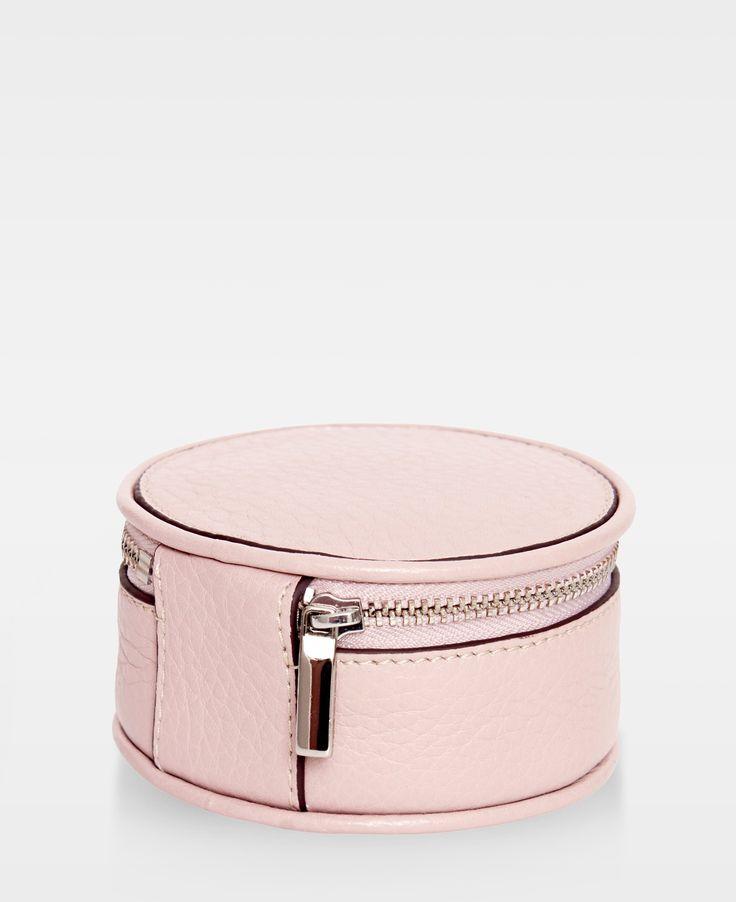 DECADENT Harper Jewellery box, Soft pink