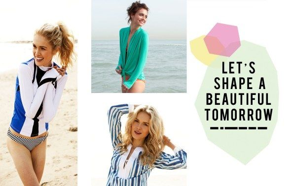 Shape a beautiful tomorrow by being sun safe