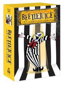 Beetlejuice: The Complete Series - on DVD 28 May 2013!  The day you realize Nick & Burton always had your back!