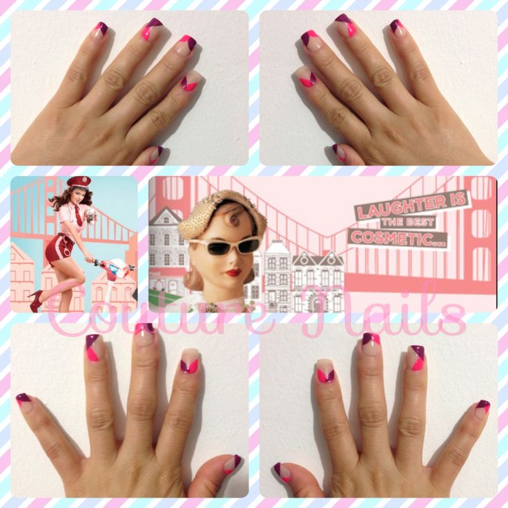 #Irresistible #Diseño #Uñas * #Diagonales #Beige #Pink #Viernes #Smile #Ladies #Lovely #kisses #Besos #Dulces #Sweet #Manos #Bellas  ~.~* #Couture #Nails ;) #summer #lovers #sugar #sunshine #Gum !
