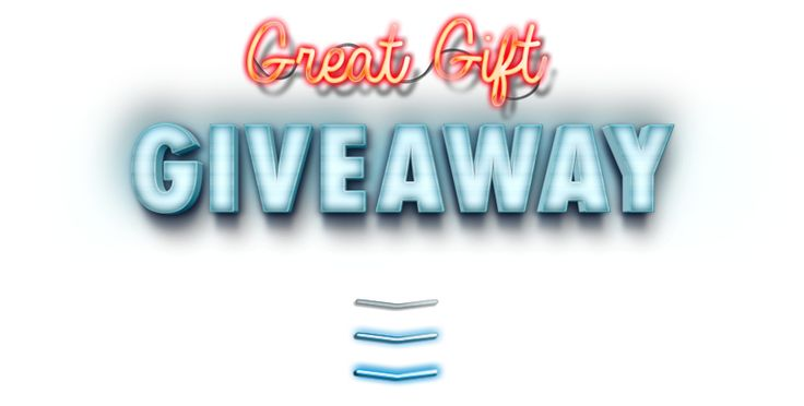 Welcome to our $75,000 Great Gift Giveaway!