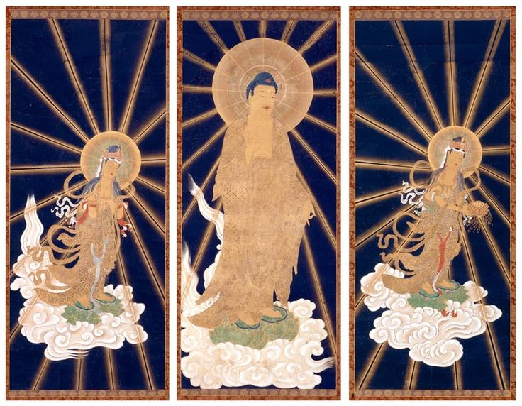 Amitabha Buddha Triad