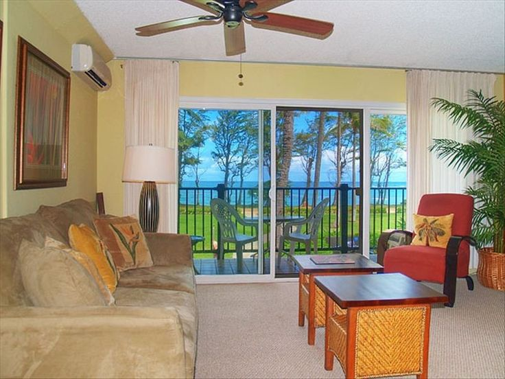 Kapaa Condo Rental: Beachfront Bargain In Kapa'a, Kauai! (with A/c) | HomeAway