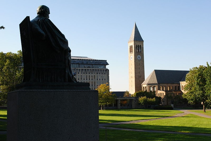 Arts Quad & McGraw Tower, Cornell University, Ithaca, NY