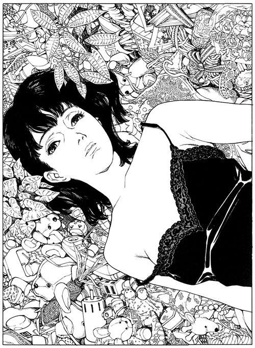 artbooksnat:  Satoshi Kon had amazing attention to detail, which...