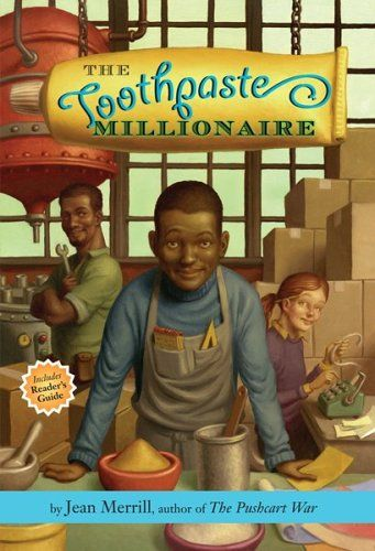 Entrepreneur Kids: Teach kids about money using this awesome book, The Toothpaste Millionaire. #TeachKidsMoney https://www.kidsandmoneytoday.com/toothpaste-millionaire-192/ #KidEntrepreneur