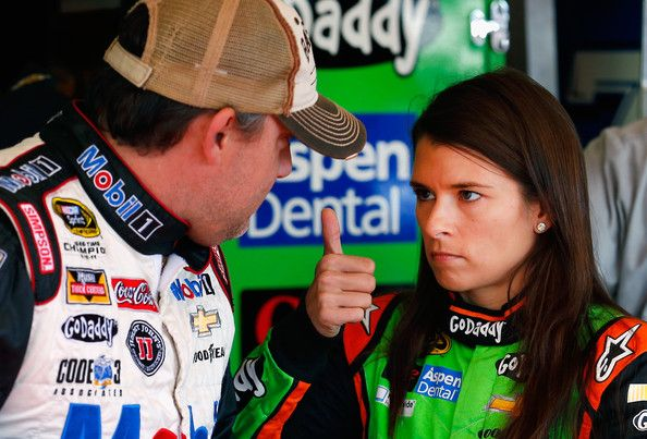 Danica Patrick Tony Stewart Photos: Phoenix International Raceway - Day 3