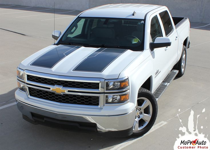Best Chevy Silverado And GMC Sierra Images On Pinterest - Chevy decals for trucksmore decalchevrolet silverado rally edition unveiled