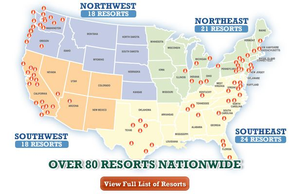 Over 80 of The best RV Resorts Nationwide | Zone Camping Pass = Discount Camping at Best RV Resorts and Campsites