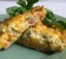 Ham and Cheese Frittata | Good food | Pinterest | Ham And Cheese, Hams ...