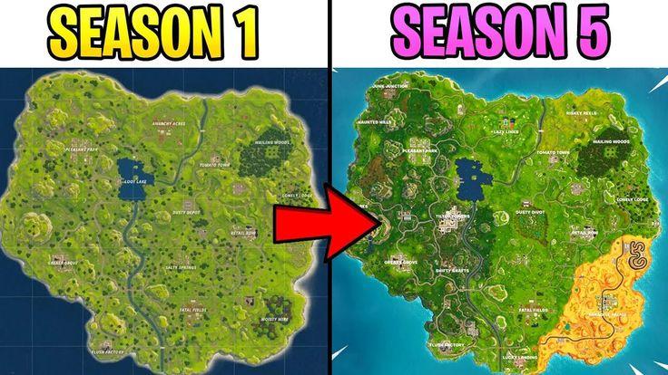 Evolution of fortnite map best of fortnite reddit