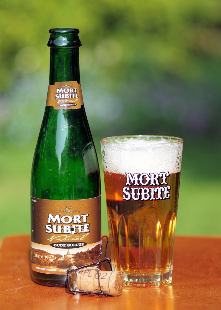 "A search for ""subitize"" comes up with images of ""subite,"" perhaps it's a sign! :)    Mort Subite Oude Gueuze."