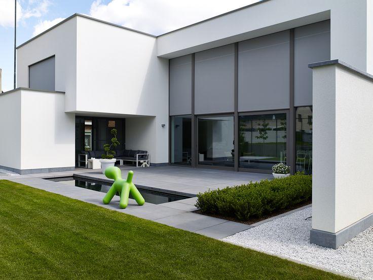 17 beste idee n over moderne tuinen op pinterest modern for Beeld tuin modern
