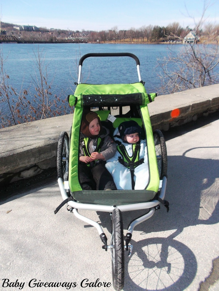 Croozer Kid for 2 (3-in-1 jogger/stroller/bike trailer)