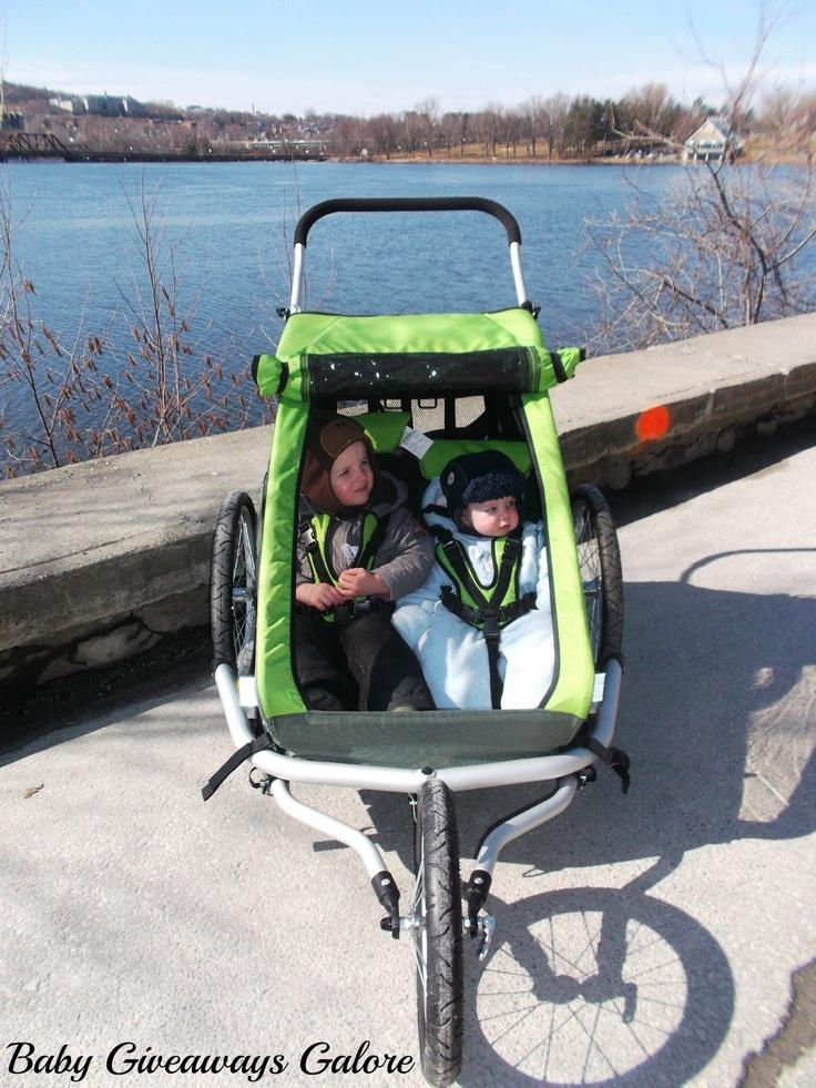 Croozer Kid for 2 (3-in-1 jogger/stroller/bike trailer)