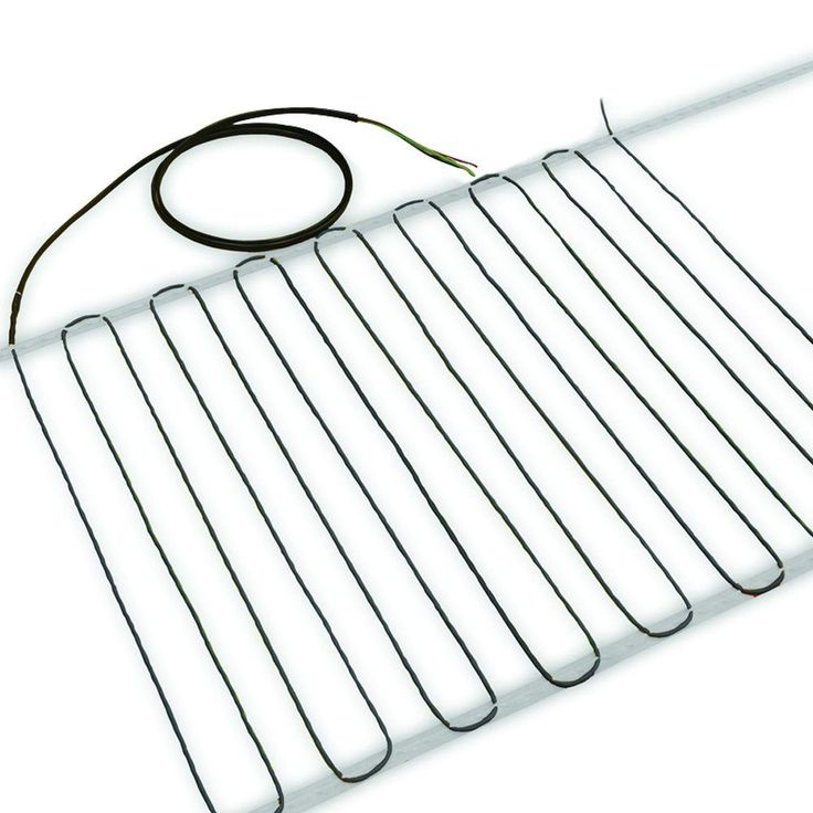 240volt floor heating cable covers up to 178
