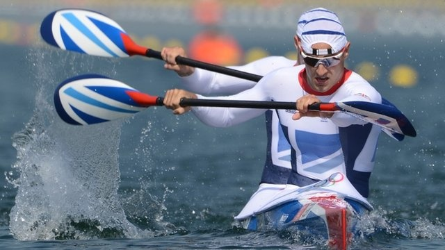 BBC Sport - Olympics kayak: Liam Heath and Jon Schofield win K2 200m bronze