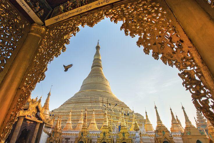 Pagode Shwedagon - Rangoon