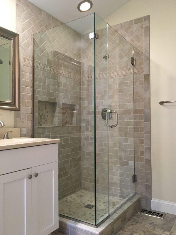 Browse Frameless Corner Shower Enclosures Corner Shower Corner