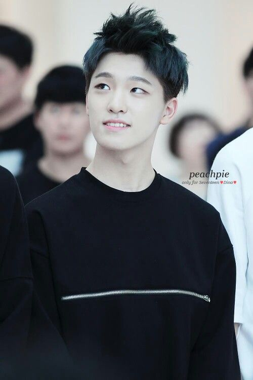 props to the hairstylists who found a hairstyle that makes him look so much more charming (((: Lee Chan   Seventeen