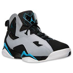 Men\u0026#39;s Jordan True Flight Basketball Shoes ?| FinishLine.com | Black/Powder Blue/Wolf Grey | sick kicks | Pinterest | Jordan True Flight, Basketball Shoes ...