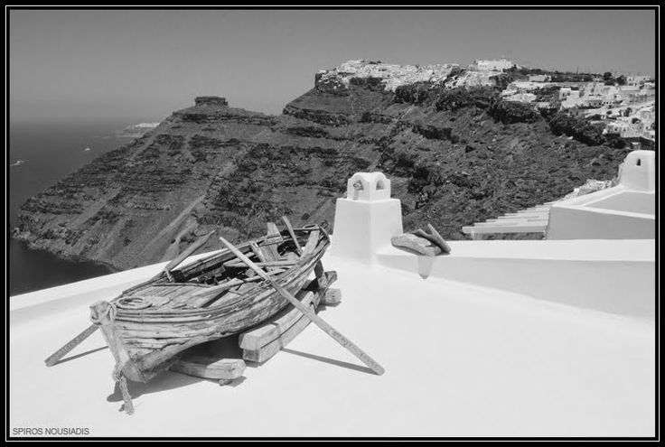 Santorini - Caldera Boating by Spiros Nousiadis