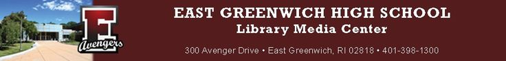 Database of web 2.0 tools curated by East Greenwich High School Library