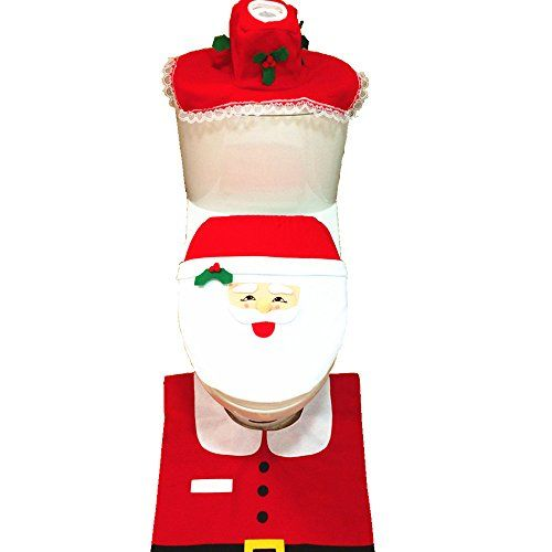 You'll love this super cute Crochet Santa Toilet Seat Cover Pattern and we have the Crochet Snowman Seat Cover Pattern too.