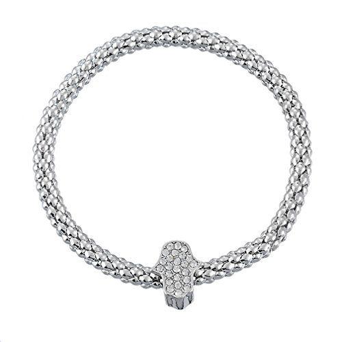 Xiehou Unisex Hand of Fatima Charm Bracelet Alloy with Silver Color Xiehou http://www.amazon.com/dp/B00W998K66/ref=cm_sw_r_pi_dp_UAVnvb0MBPG6F