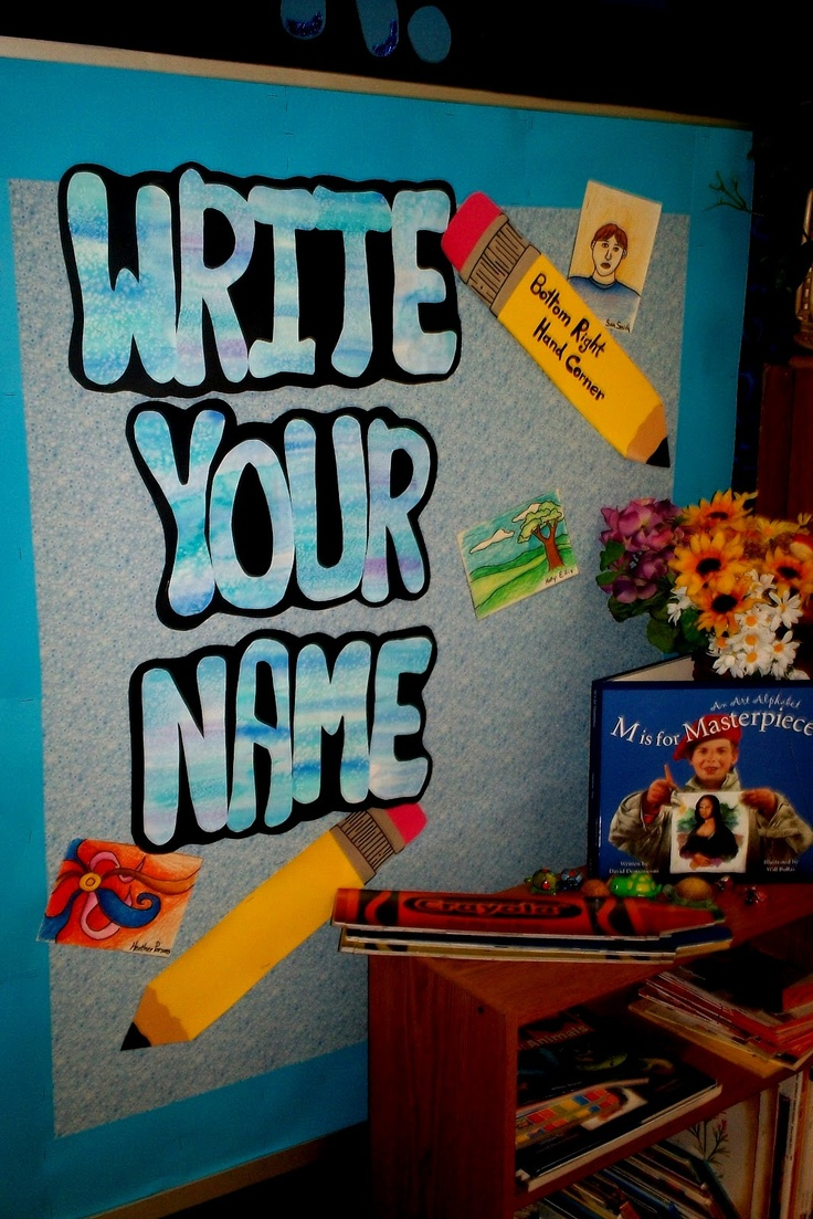 Write your name...: Art Classroom, Art Bboards Posters Ideas4Ea, Board Art, Bulletin Boards, Classroom Organizers, Art Display, Classroom Management, Art Rooms, Creative Classroom