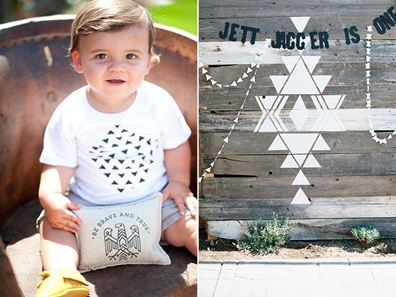 Jett's modern southwestern 1st birthday | Beijos Events | 100 Layer Cakelet