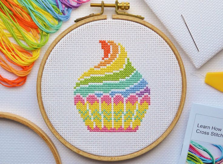 Rather than a basically equipped cross stitch kit for beginners, this handmade kit comes with a 16 page tutorial booklet written by a published cross stitch author. It contains tips to help you with your new hobby, information on all the materials used, how to read a cross stitch chart, looks at finishing a project ready for display as well as providing complete cross stitch instruction to get you on your way. | eBay!