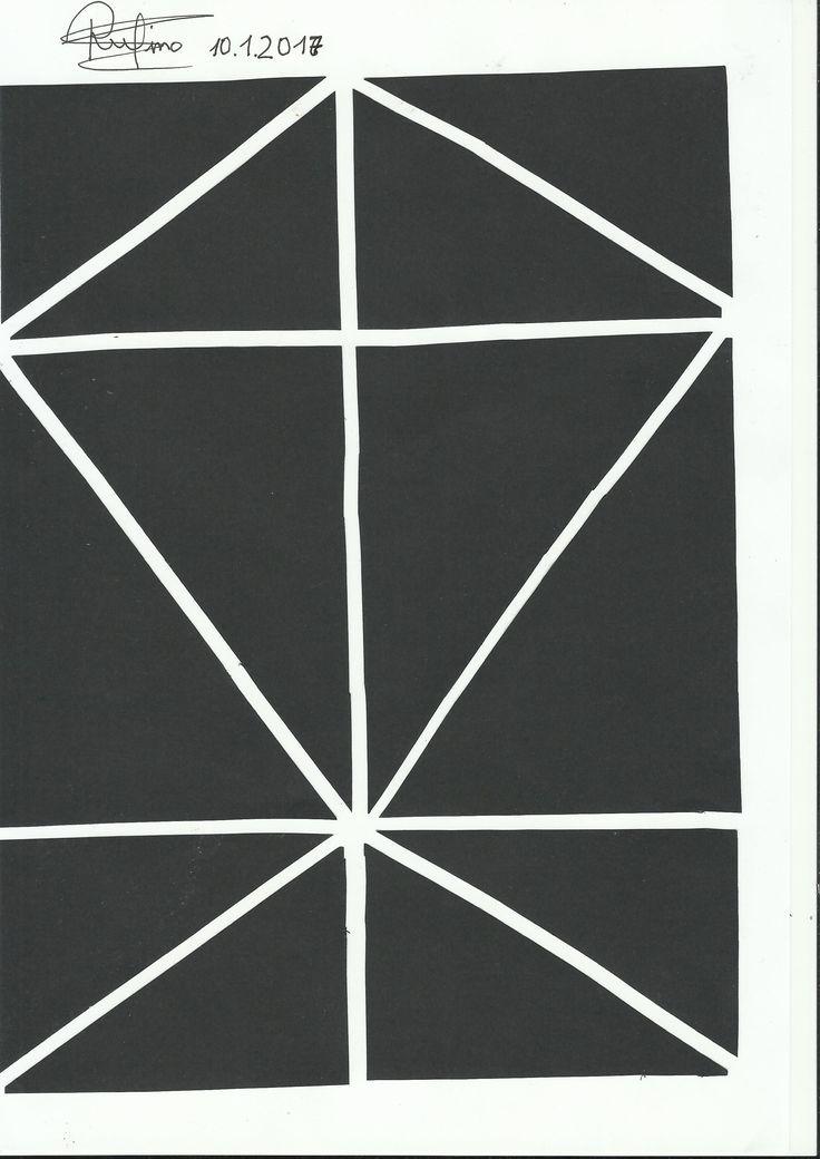 Ejercicio 1. Cuadrado. Al igual que las demás formas, me he decantado por líneas rectas creando  un patron similar a la forma de una cometa. La canción elegida para este ejercicio ha sido: https://www.youtube.com/watch?v=sB-StIVHsn0