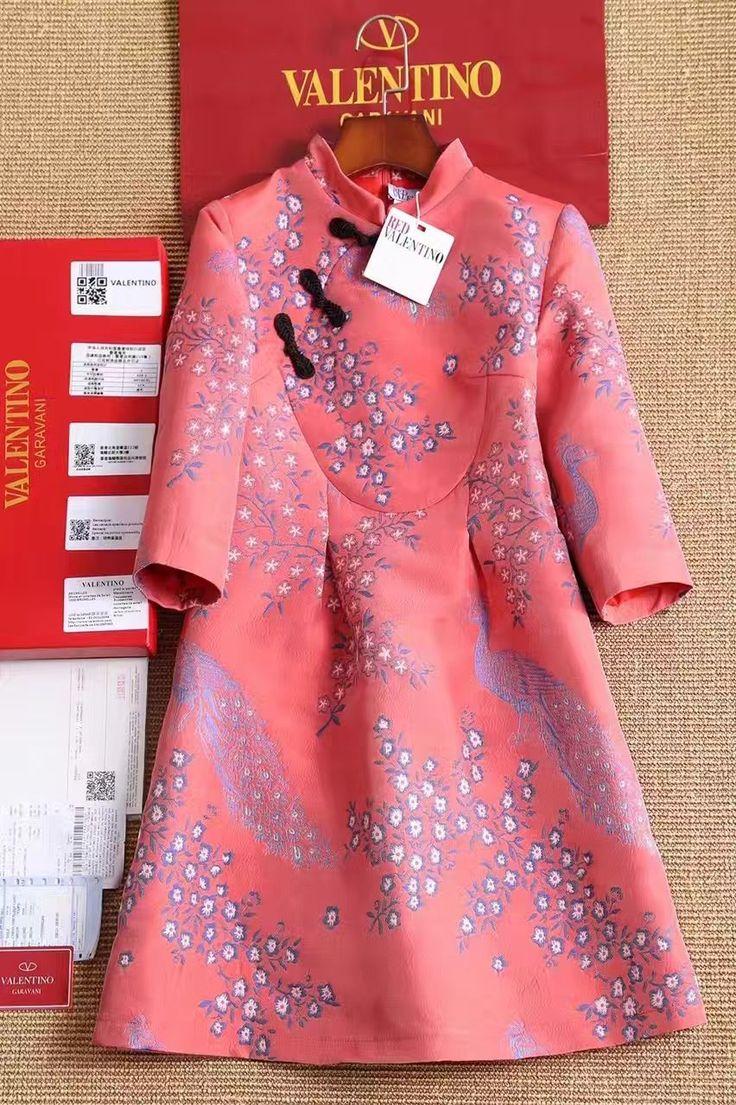 Платье Valentino в китайском стиле!