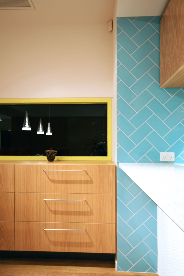 Johnson kitchen wall tiles design - What A Stylish Design By Marc Dixon Architects Great Use Of Waringa Duck Egg Johnson Tileskitchen