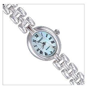 Silver Watch, Oval by UK Gems