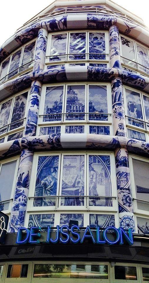 Building The Teapot   West Kruiskade   Rotterdam   The Netherlands, Looking for Dutch Design? http://shop.holland.com/en/souvenir-gift-present/delft-blue/
