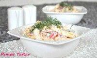 Kırmızı Biberli Makarna Salatası