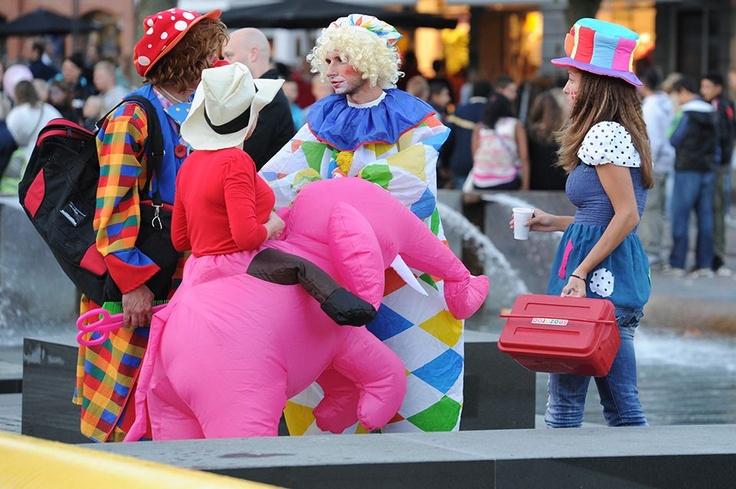 Danish Clown & Street Performer Festival i Fredericia - 2012