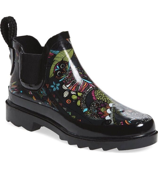 'Rhyme' Waterproof Rain Boot