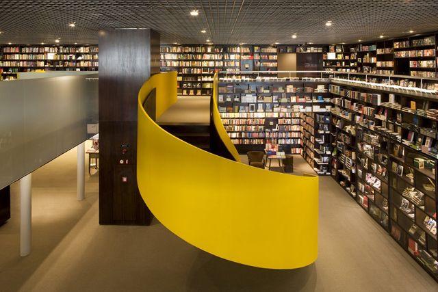 Livraria Da Villa | Isay Weinfield: Sao Paulo Brazil, Bookstore, Stores Design, Livraria Da, Libraries Design, Da Vila, Books Stores, Davila, Reading Spots