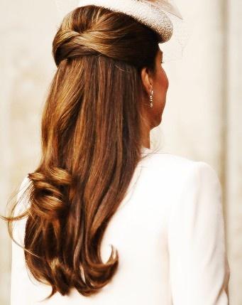 Duchess Kate's hair looks so classy and feminin..love it!