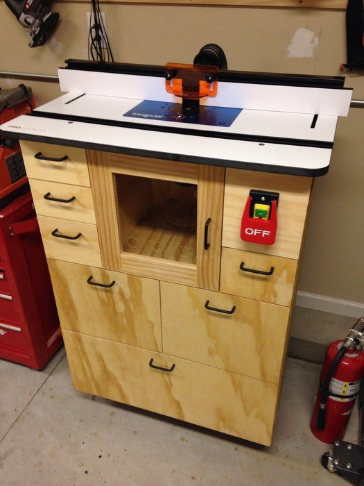 89 best router table images on pinterest tools router table and tall mans router table by mike merzke lumberjocks woodworking community greentooth Gallery