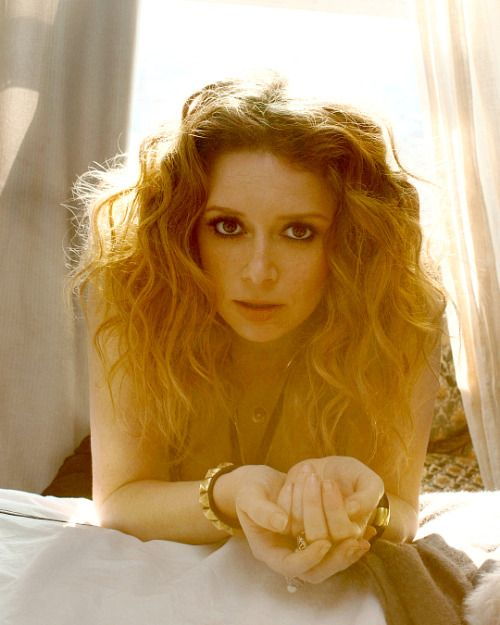 Natasha Lyonne photographed by Annabel Mehran for Diva magazine