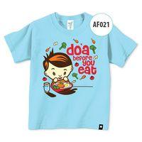 Kaos Afrakids AF021 -  Doa Before You Eat (XL)