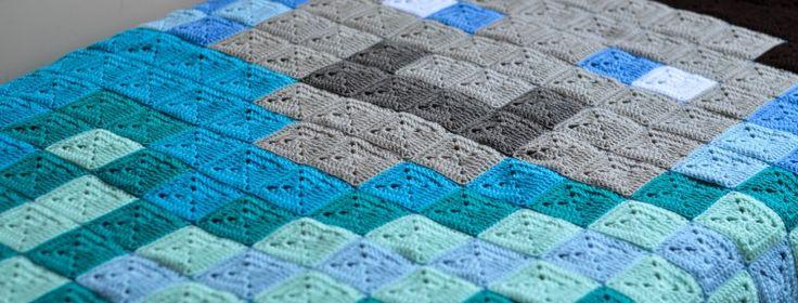Crochet Minecraft Blanket Pattern